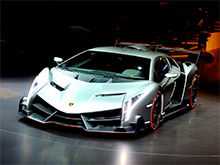 Lamborghini выпустит открытую версию суперкара Veneno
