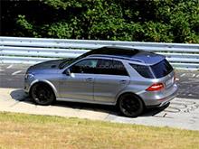 Mercedes начал тесты конкурента BMW X6