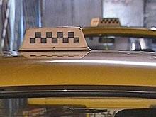 Московские такси пустят на выделенные полосы в сентябре