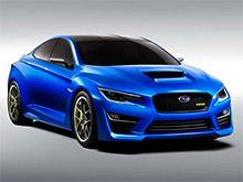 """В ноябре Subaru покажет """"заряженный"""" седан WRX"""