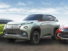 Mitsubishi показала три концепта к автосалону в Токио