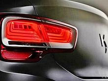 Появились первые фото нового седана Citroen
