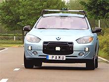 Компания Renault провела ВИДЕОдемонстрацию собственной системы автономного управления автомобилем