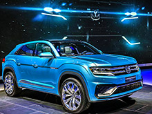 Volkswagen продемонстрировал концепт нового среднеразмерного кроссовера