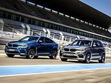 BMW объявила рублевые  цены на кроссоверы X5 M и X6 M нового поколения