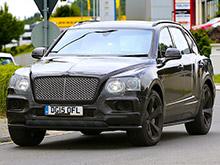 Bentley Bentayga стал самым быстрым кроссовером в мире еще до дебюта (ВИДЕО)
