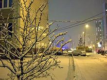 Метель в Москве не привела к росту мелких аварий