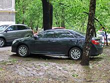 Летом в Москве  начнут  наказывать за парковку на газонах - штраф составит  до  300 тысяч рублей