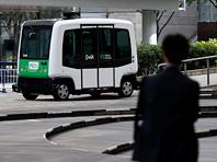 Япония в августе запускает  беспилотный  автобус для любителей шопинга